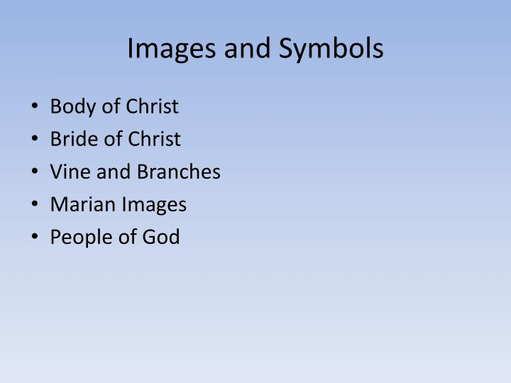 Images and Symbols