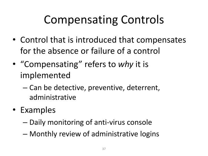 Compensating Controls
