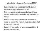 mandatory access controls mac1