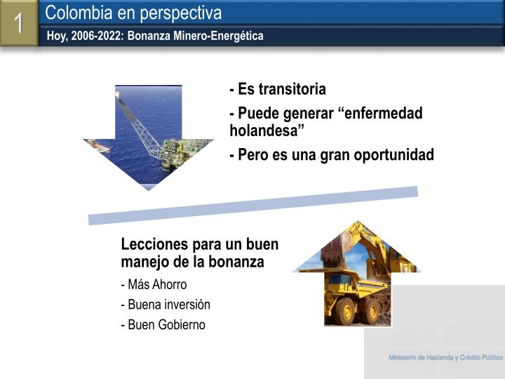 Hoy, 2006-2022: Bonanza Minero-Energética