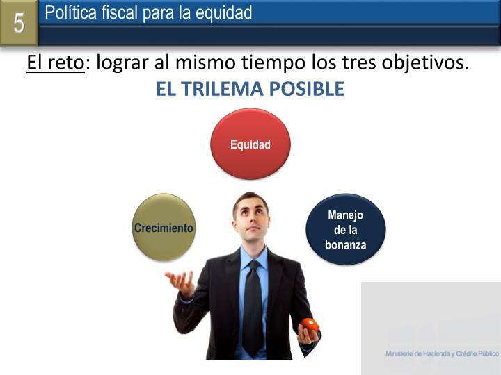 Política fiscal para la