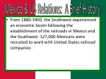 mexico us relations a brief history1
