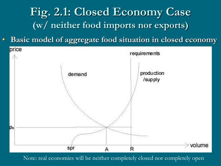 Fig. 2.1: Closed Economy Case