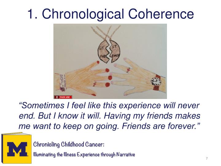 1. Chronological Coherence