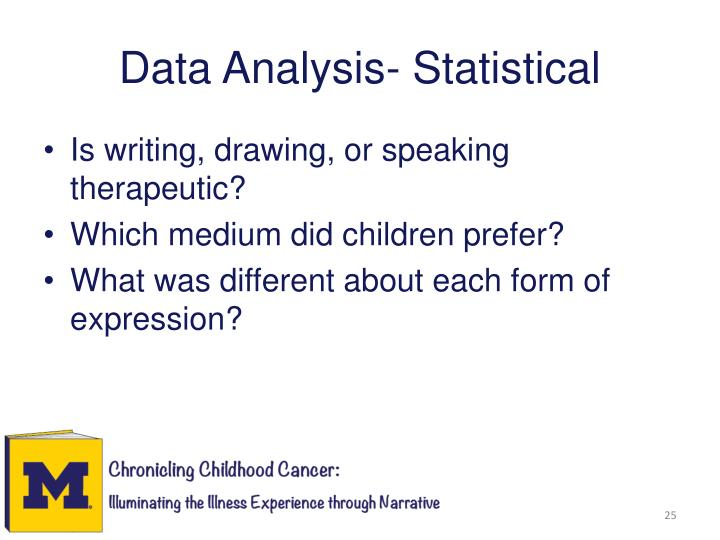 Data Analysis- Statistical