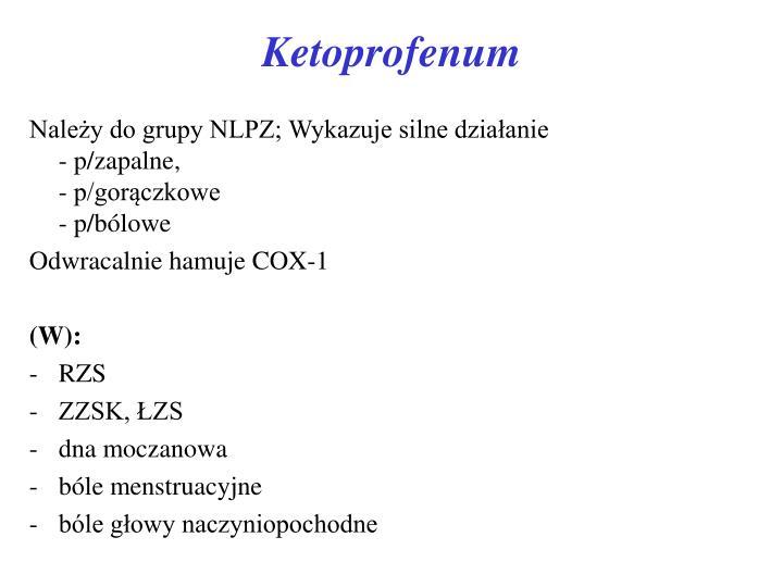 Ketoprofenum