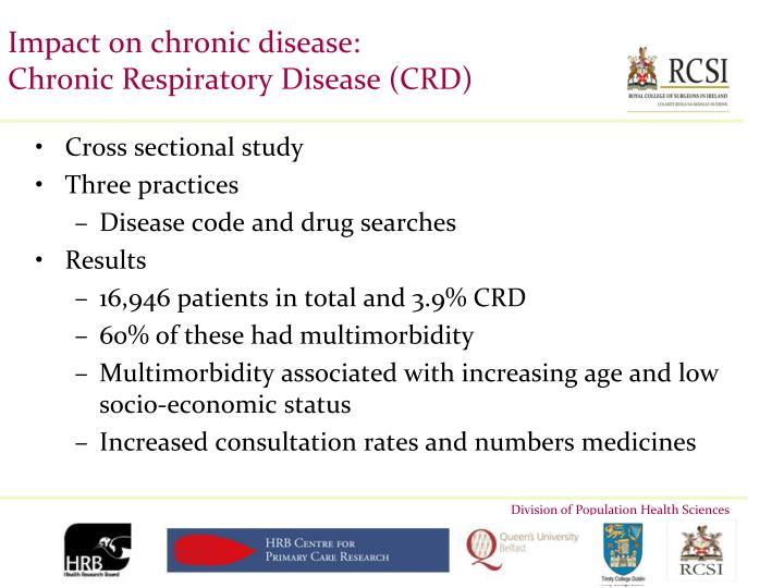 Impact on chronic disease: