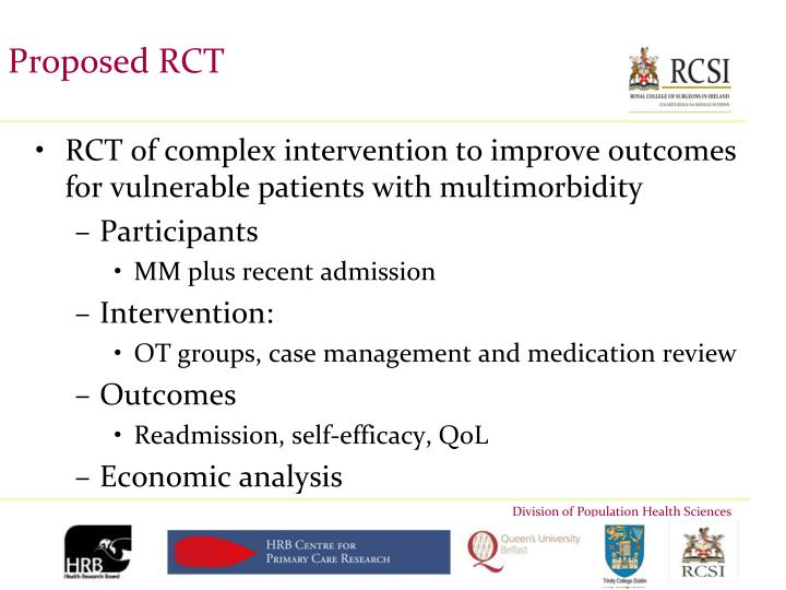 Proposed RCT