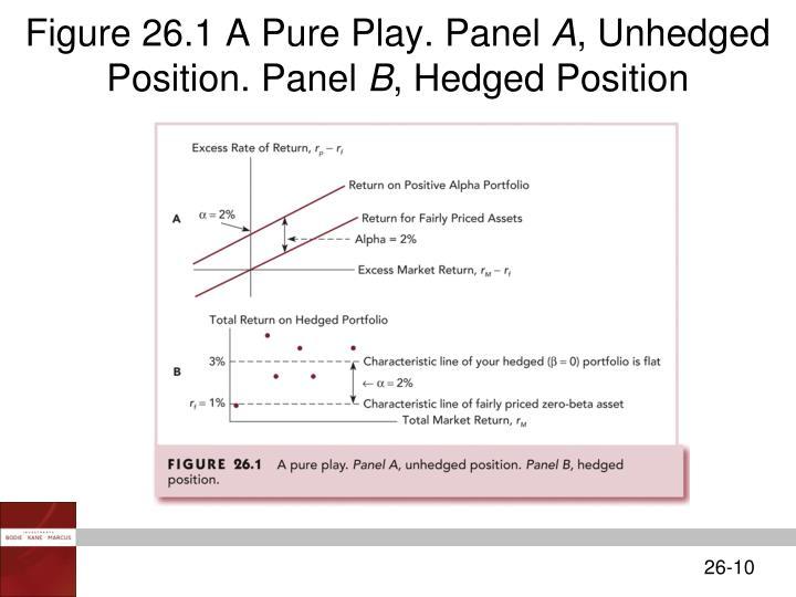 Figure 26.1 A Pure Play. Panel