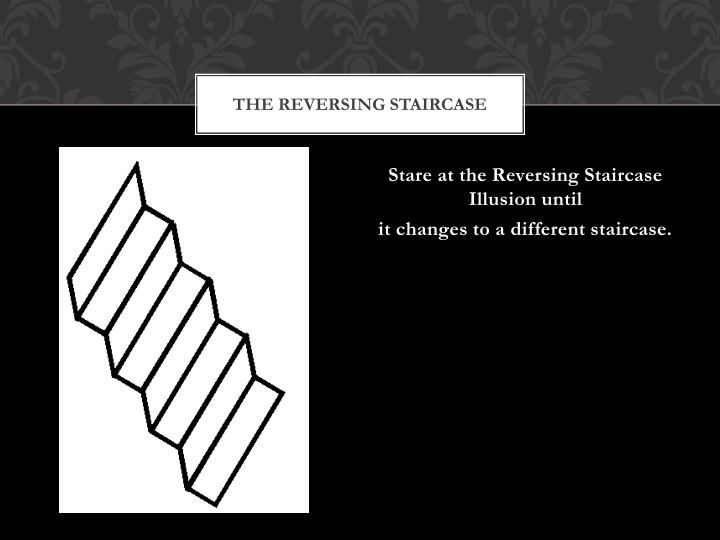 the reversing staircase