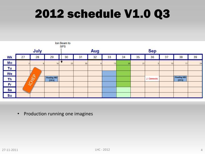 2012 schedule V1.0