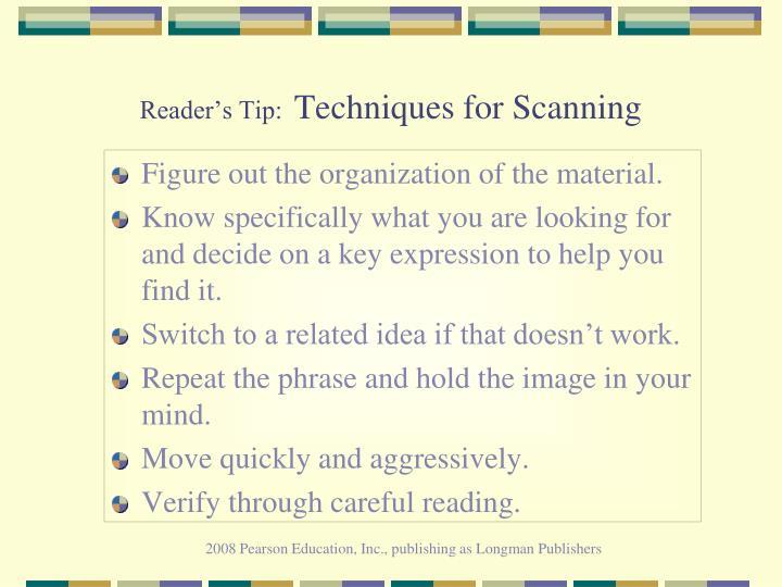 Reader's Tip: