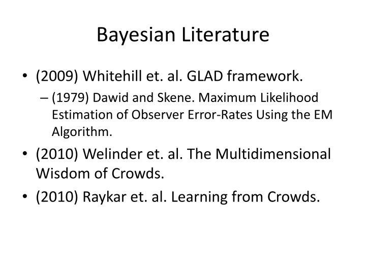 Bayesian Literature