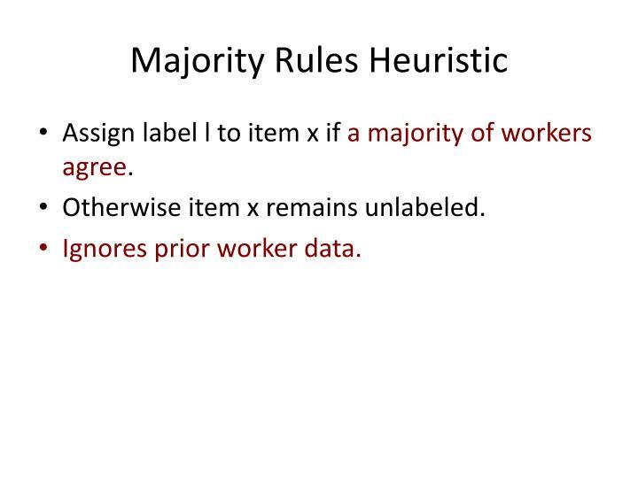Majority Rules Heuristic