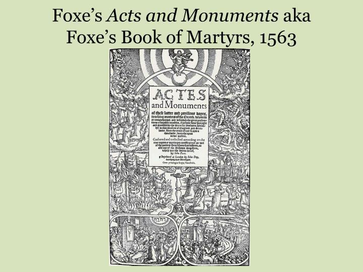 Foxe's