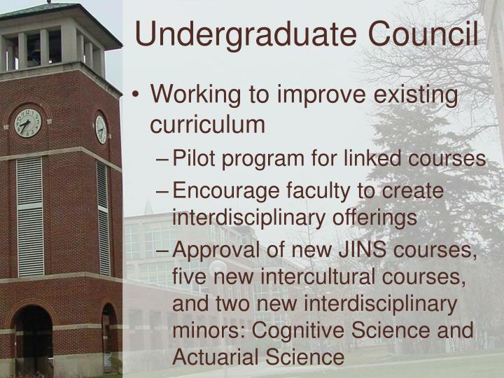 Undergraduate Council