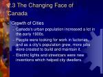 2 3 the changing face of canada1