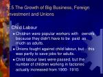 2 5 the growth of big business foreign investment and unions3