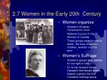 2 7 women in the early 20th century1