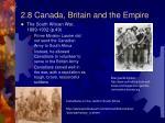 2 8 canada britain and the empire