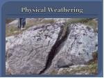 physical weathering1