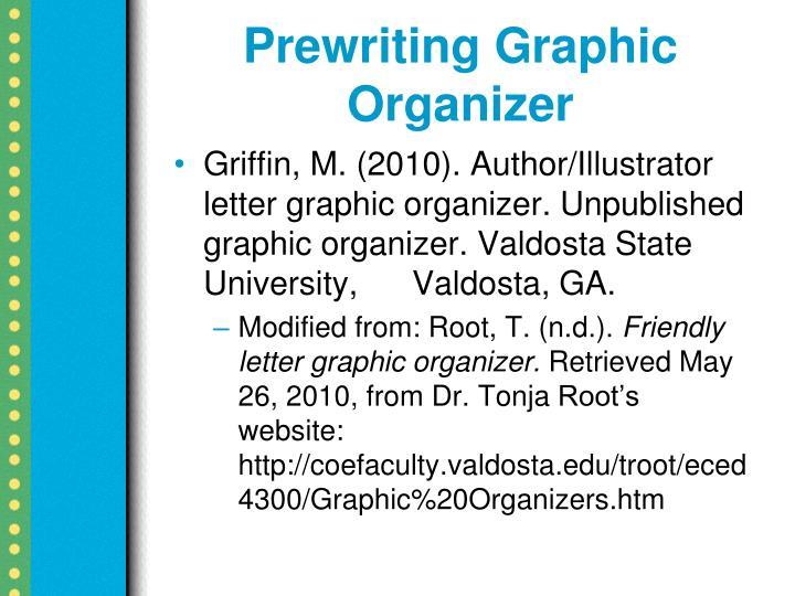 Prewriting Graphic Organizer