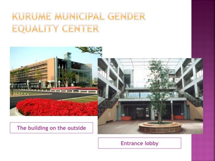 Kurume municipal gender equality center