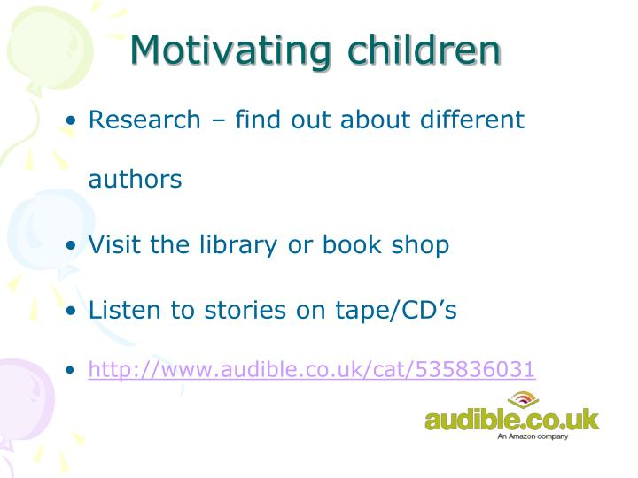 Motivating children