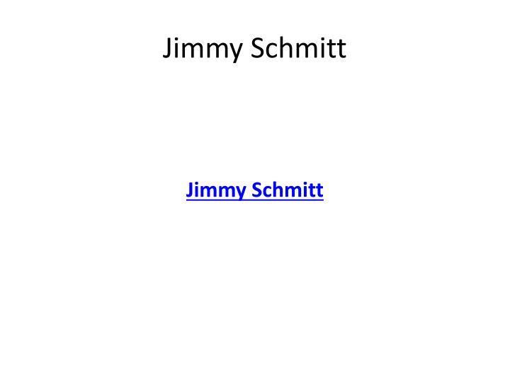Jimmy Schmitt