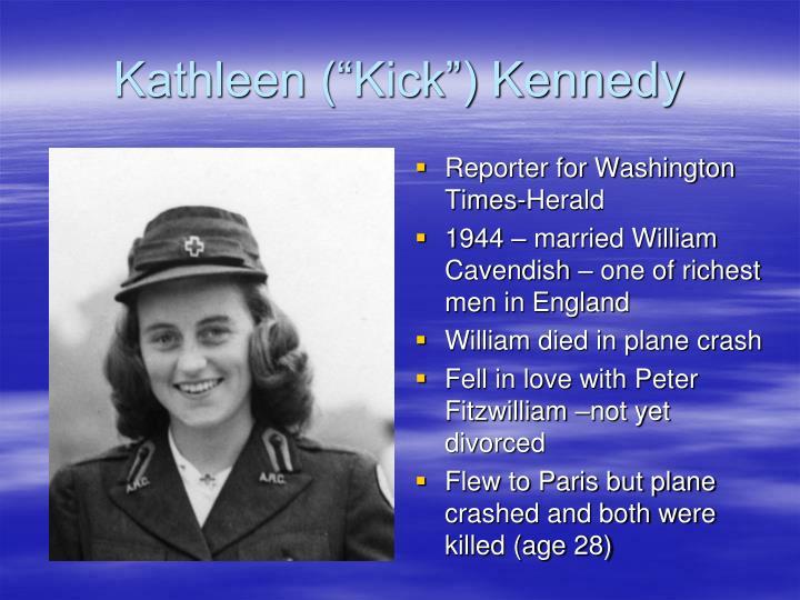 "Kathleen (""Kick"") Kennedy"