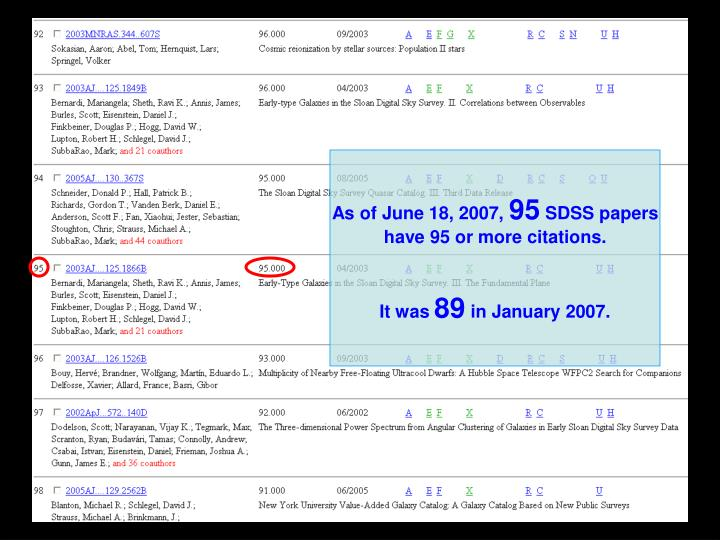 As of June 18, 2007,