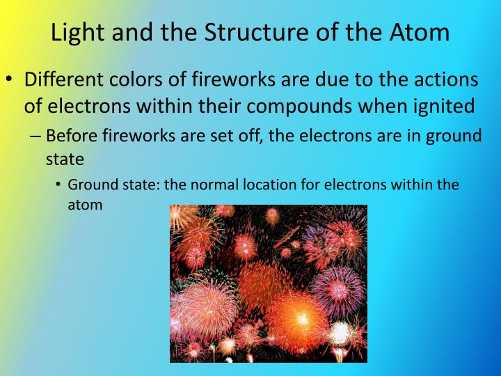 Light and the Structure of the Atom