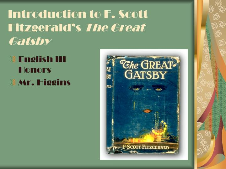 an analysis of the american dream in the novel the great gatsby by f scott fitzgerald