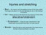 injuries and stretching1