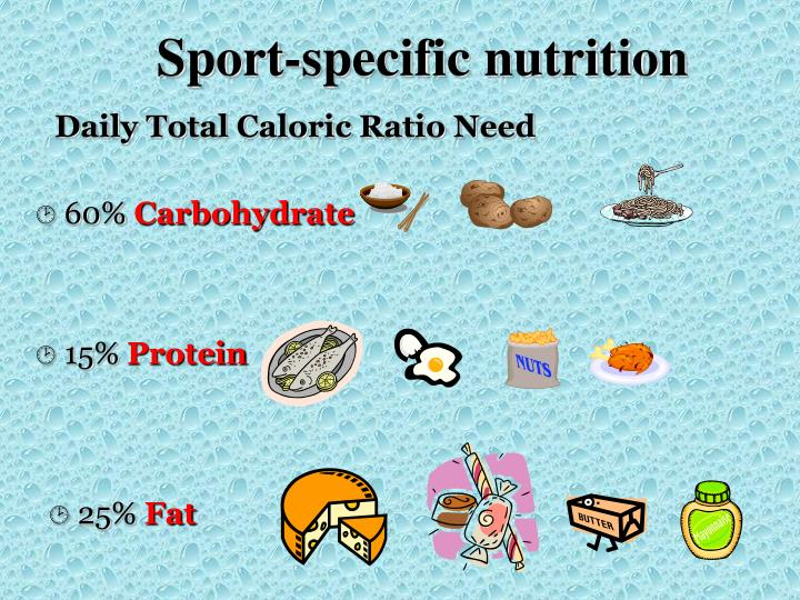 Sport-specific nutrition