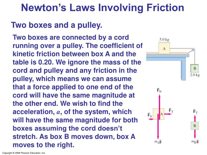 Newton's Laws Involving Friction