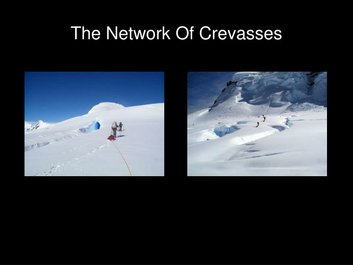 The Network Of Crevasses