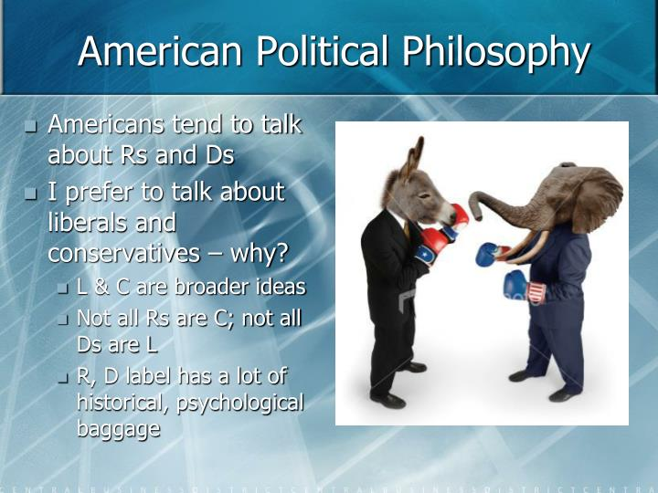 American political philosophy