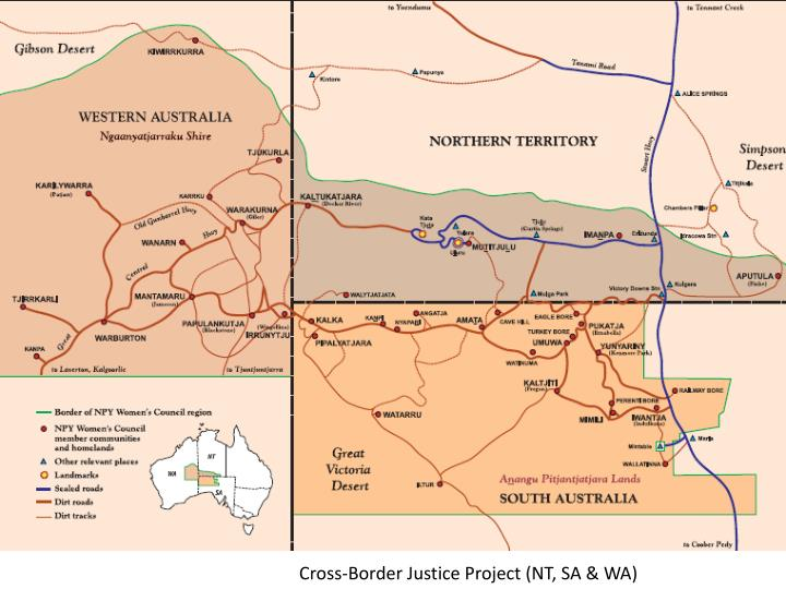Cross-Border Justice Project (NT, SA & WA)