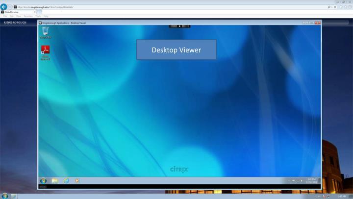 Desktop Viewer