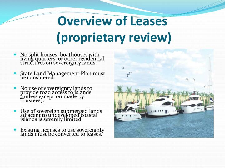 Overview of Leases