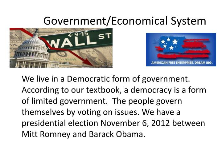 Government/Economical