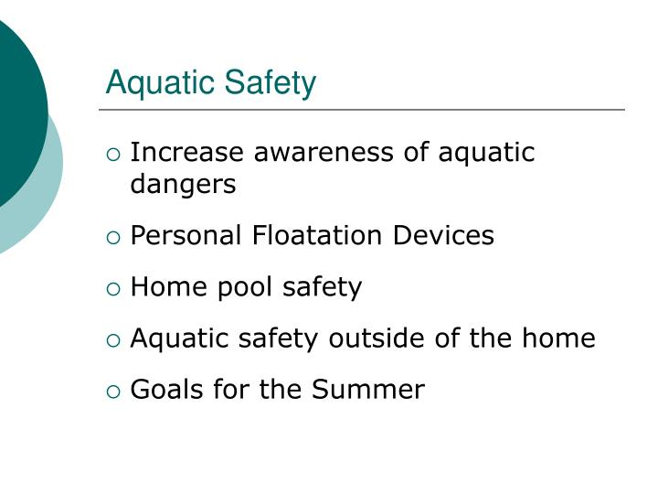 Aquatic Safety