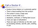 call a doctor if