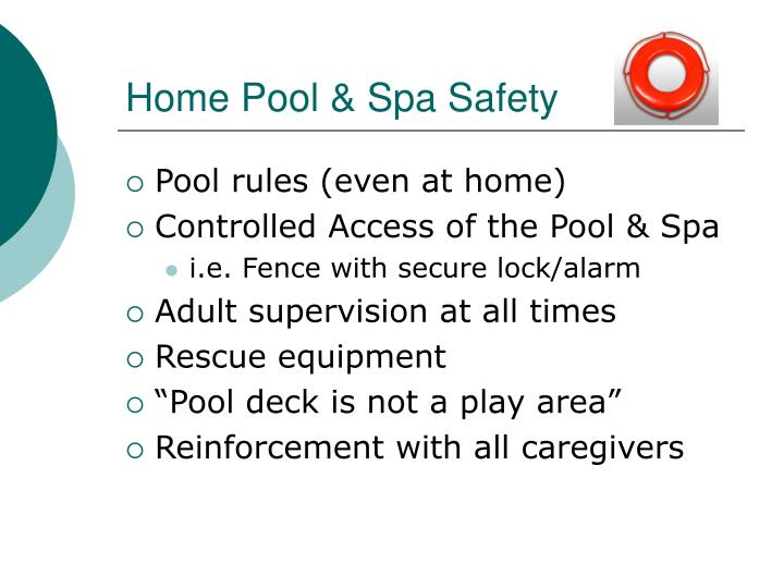 Home Pool & Spa Safety