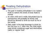 treating dehydration