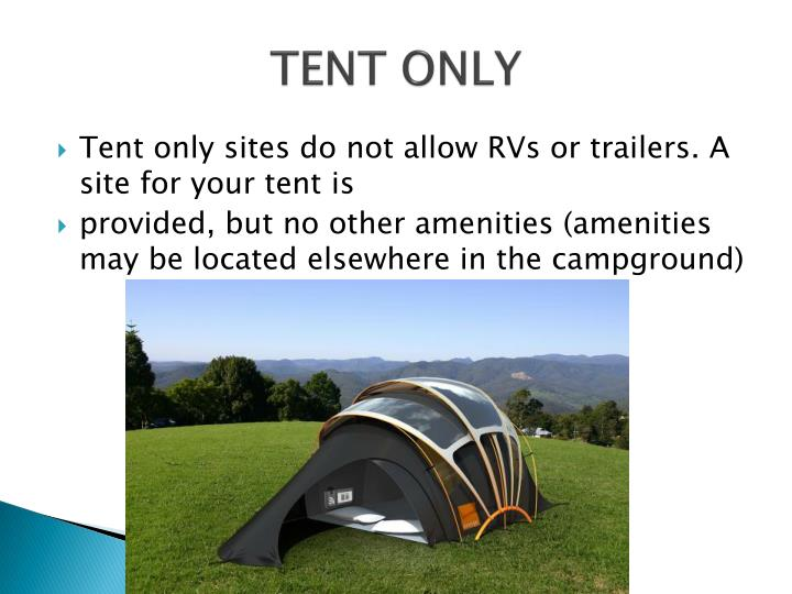 TENT ONLY