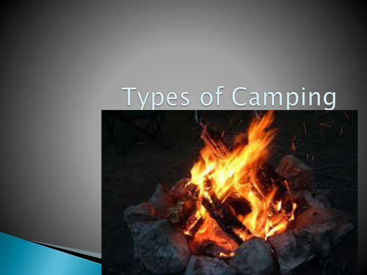 Types of camping