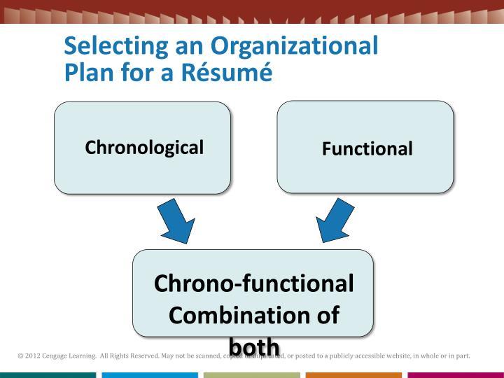 Selecting an Organizational