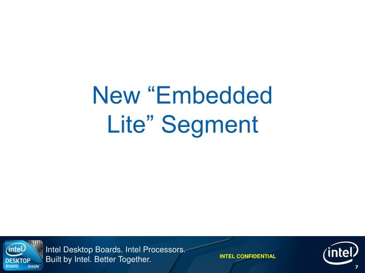 """New """"Embedded"""